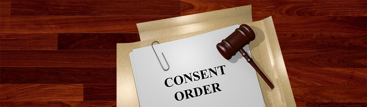 How to correctly conclude a claim by way of a consent order