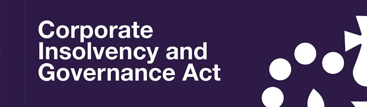 The Corporate Insolvency and Governance Act 2020