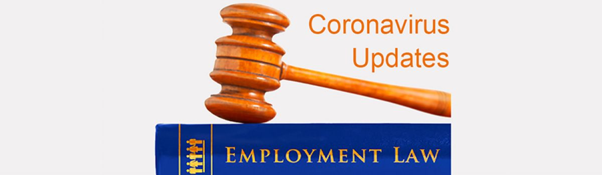 Employment law updates – Coronavirus