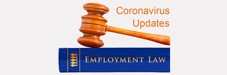 Employment Law Updates: Coronavirus - Blake-Turner LLP