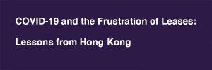 Frustration of Leases Blake-Turner Solicitors
