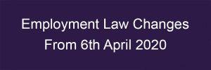 Employment Law Changes Blake-Turner